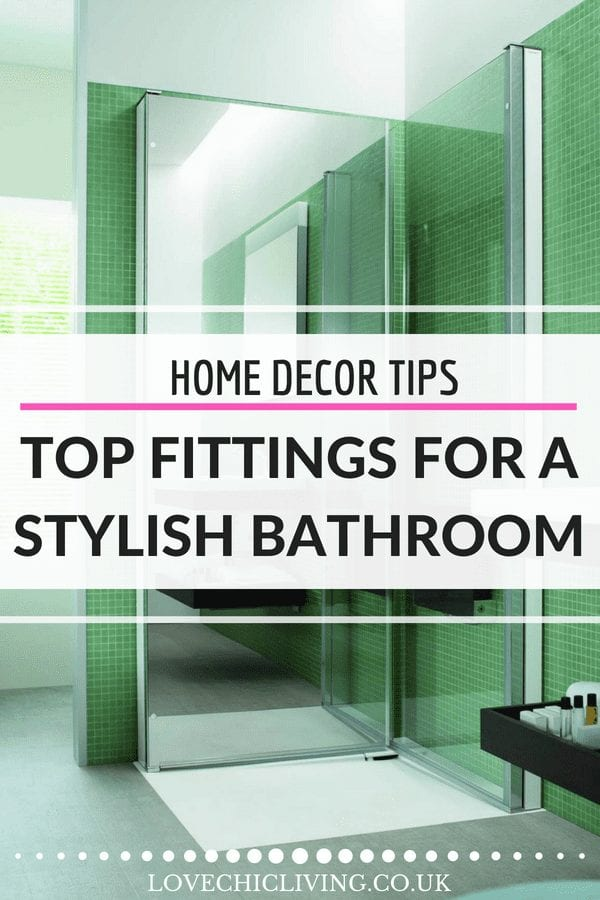 Designing a great bathroom takes special skill and you always want to add the best bathroom finishing touches. Bathroom fittings that look great as well as offer practicality are best, from radiators to bathroom art, bathroom lighting and luxury showers. All the ideas are here #bathroomtips #bathroomdesign #lovechicliving #bathroomfittings #bathroomradiator #bathroomlight #bathroomart