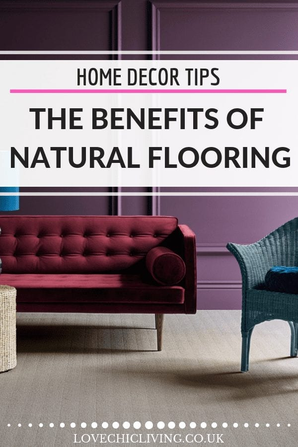 Natural flooring makes beautiful floor covering, whether you want wool, sisal, seagrass, coir or jute. Each has its own benefits and features so click through to find out which one will suit your home. #naturalflooring #sisalrunner #jute #coirfloor #seagrassmatting #lovechicliving