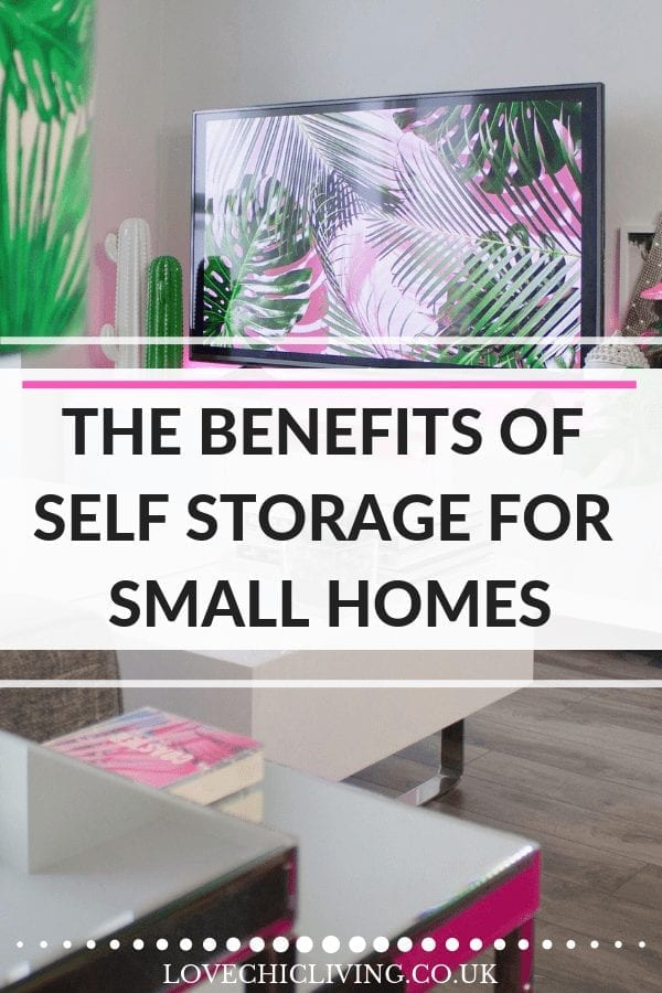 When you have a small home, you need somewhere to store your possessions. Self storage is a great solution for those with small spaces and has heaps of benefits. #selfstorage #smallhomes #smallspaces #lovechicliving