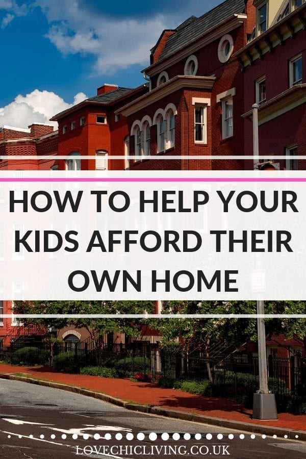 How do you help your kids afford their own home? How do we help them get on the property ladder? Well I have an idea to make money for my own children so they can buy their first home - will it work? #lovechicliving #propertyladder