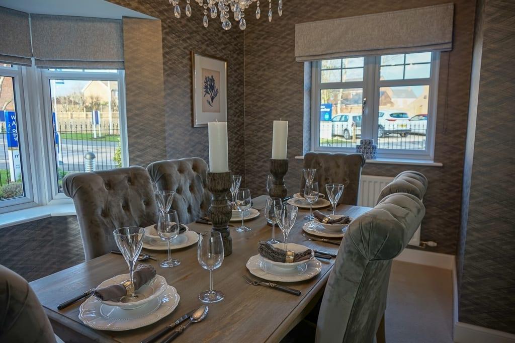 Miller homes dining room