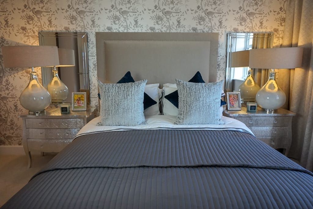 Miller Homes bedroom