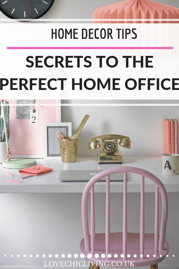When you want to convert your study into the perfect home office, you'll need to update the decor with shelves, storage and built in cupboards. Simple inspiration is all you need to make the most of space in a guest bedroom, adding rugs, paint colours, lamps and more. #homeoffice #studyideas #homeofficedecor #homeofficesecrets #lovechicliving