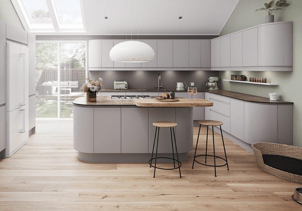Luna matt grey kitchen