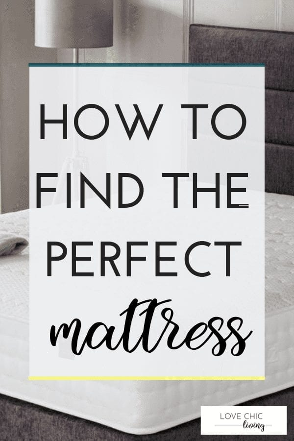 If you're buying a new mattress you need to know what qualities to look for and what to avoid. Check out this mattress buying guide to find the best type of mattress for you and your bed #mattress #mattressbuying #perfectmattress #comfortablemattress