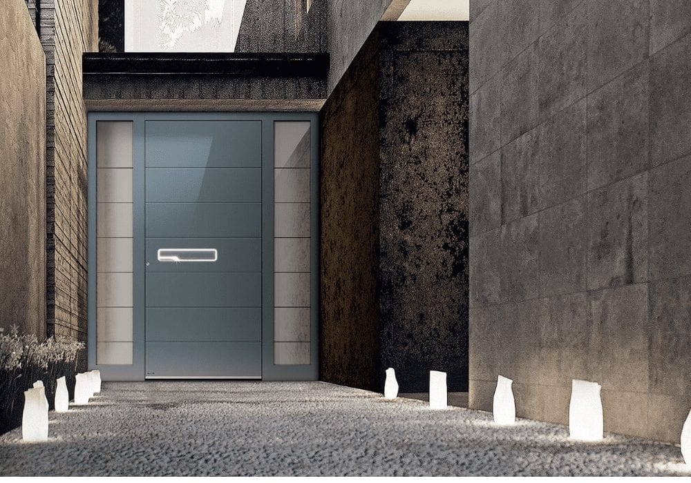 contemporary front door design