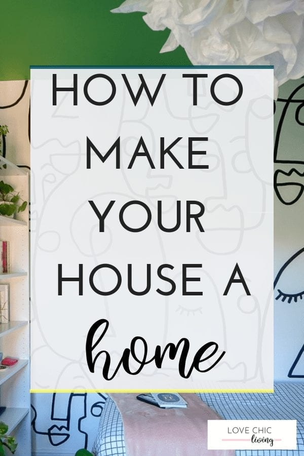 The top tips, ideas and hacks to really make your house into a home. Learn how to add finishing touches to your living room, bathroom, kids' bedrooms and kitchen to really bring your home to life. Add personality to your home to make it yours #houseahome #littletouches #lovechicliving