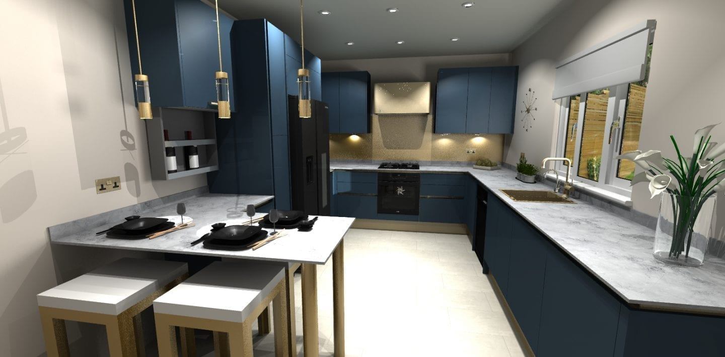 How to Use a Virtual Kitchen Design Service   Love Chic Living